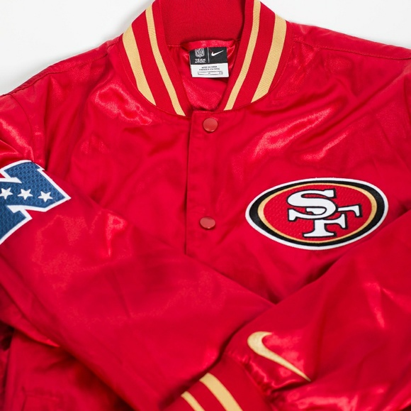 new concept 812c9 8b23a 49ers nike destroyer jacket
